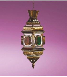 Антикварная фонарь модели Кордоба - серии Andalusí Гренадин - несколько отделки