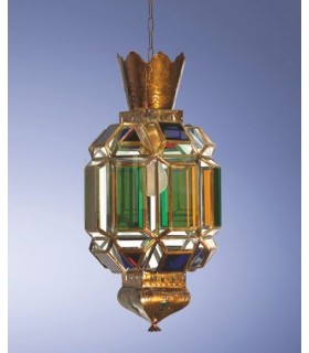 Antigo modelo de lanterna gótico - série de Granada Andaluzia – vários acabamentos