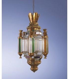 Antigo modelo de lanterna Renascença coroa - série de Granada Andaluzia – vários acabamentos