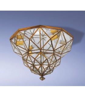 Antico modello soffitto Cádiar - granatina serie andaluso - varie finiture