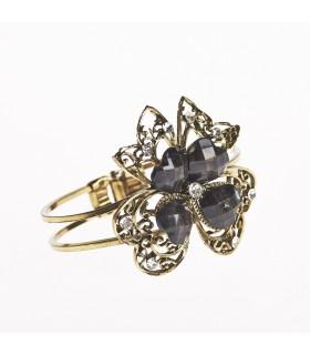 Bracelet - Disenotrebol - décoré de pierres - différentes couleurs