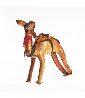 Juego 3 camellos- 100% artesanales - forrados con cuero