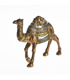 Camello embellecido cristales pintado a mano