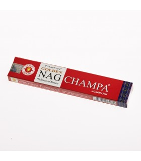 Incienso Golden Nag Champa  -Vijayshree - 15 gr - Recomendado
