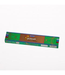 Incienso Patchouli natural -SATYA - Nueva gama de olores - NOVEDAD