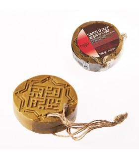 Jabón De Alepo-Ámbar y Oud Profundo- 150 g