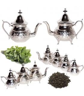 Enregistré thé alpaga - Conception Arabe - 4 tailles - Avec / Sa