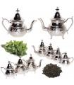 Etched Alpaca Teapot - Arab Design - Various Models