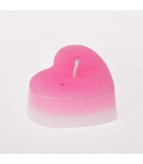 Vela- Corazón - Parafina