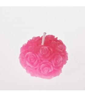 Kerze - Roses - paraffin