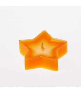 Vela parafina - estrela-