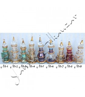Verre décoratif artisan taille 1-4 cm