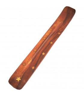 Encensoir de bois - clins - ornés de motifs divers