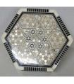 Tamarise Box with Hexagonal Nacar Lined Velvet