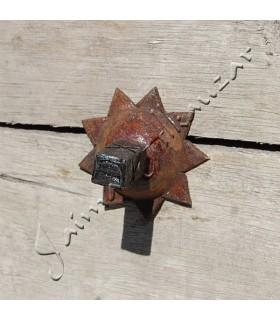 Llamador de Forja - Embellecedor y Picador Cuadrado- Forma Pera