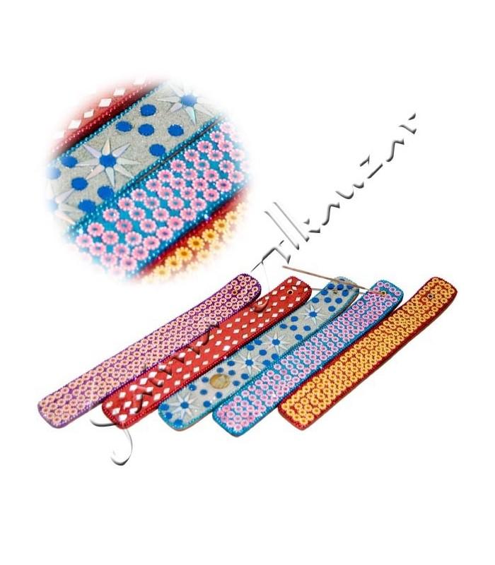 Incensario Tablilla Brillantes - Varios Modelos - Purpurina
