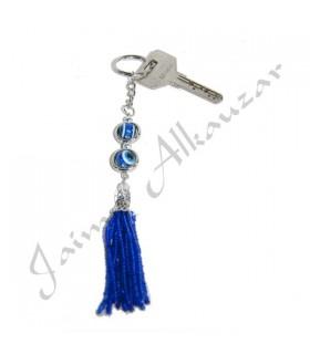 Porte-clés Eye turque - Protégez-vous contre le mauvais oeil