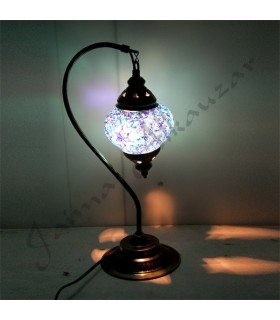Turkish Lamps - Table Pendant - Design Swan