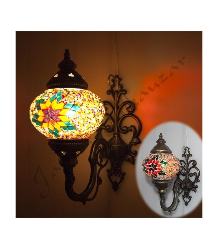 Aplique Turco - Cristal Murano - Mosaico