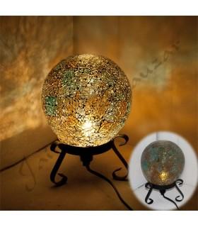 Lampada sfera - mosaico - vari colori - novità