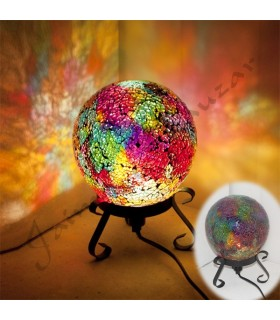 Sphere Lamp - Mosaic - Various Colors - NEW
