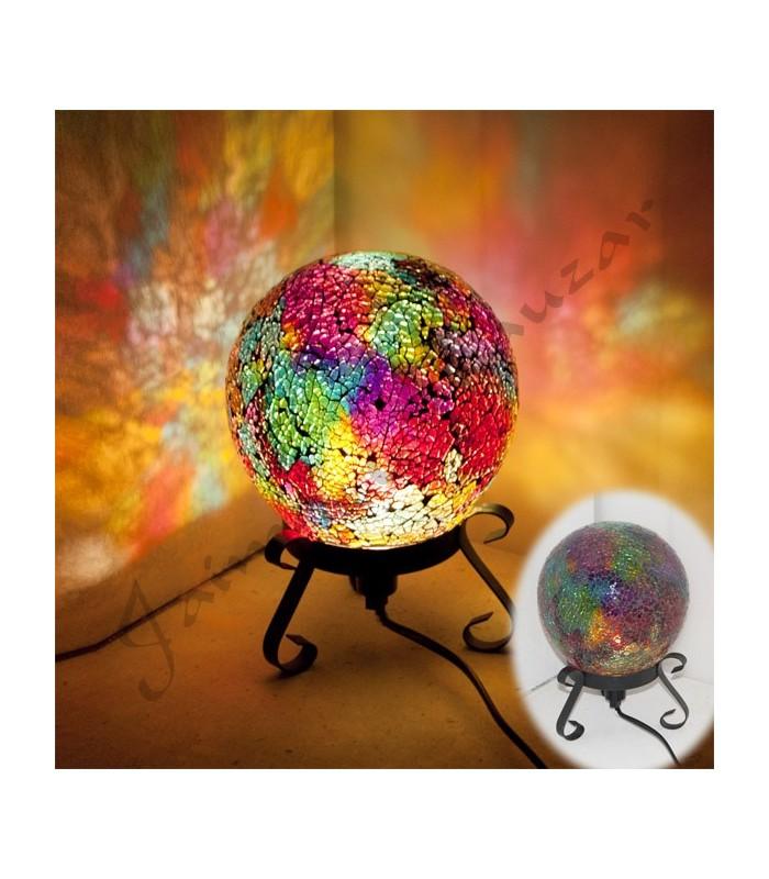 Lampara Esfera - Mosaico - Varios Colores - NOVEDAD