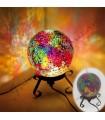 Lámpara Esfera - Mosaico - Varios Colores - Belleza