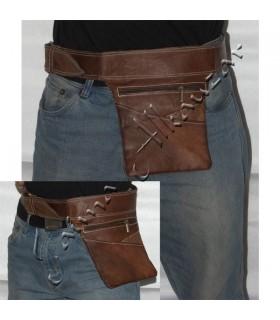 Da cintura para Artisan - 100% Couro - Alta Qualidade-Canguru