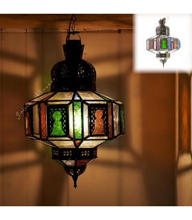 Lámpara Arcos - Cristales Multicolor - Calidad 60 cm