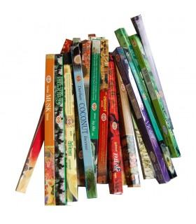 Sammlung Räucherstäbchen Darshan 25 Einheiten