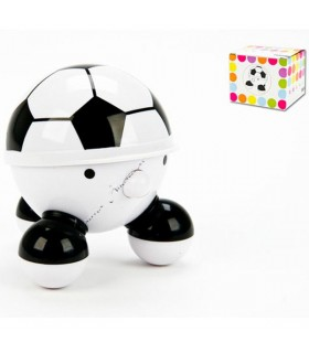 Massager football ball - 10 cm - battery operated