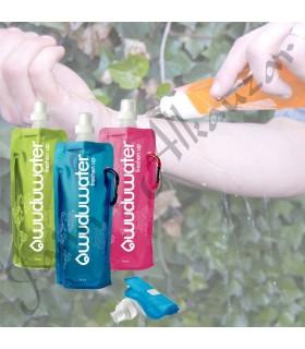 Botella Wuduu - Portátil - Flexible - 480 ml - Varios Colores