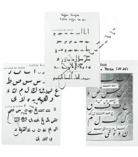 Pack 3 Kalam-Escritura Arabe-Inclinación Suave-Ruca Farsi Cufico