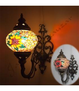 Appliquer turque Doble - Verre de Murano - Mosaic