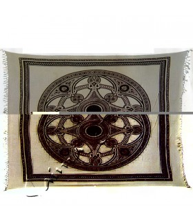 Fabric cotton-India - Celta-Artesana wheel - 210 x 240 cm