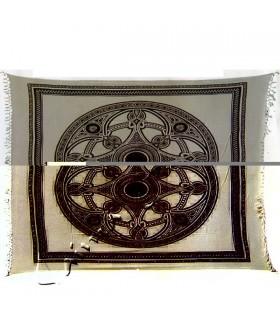 Índia-Tela Cotton- Roda Celtic-Artisan-210 x 240 cm