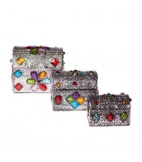 Game 3 trunks-aleacion-decorado with diamonds