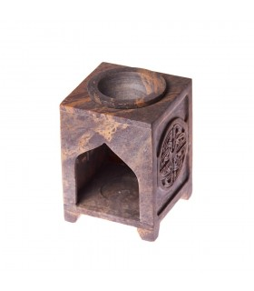 Burner essences Mandala - SOAP stone - 10 cm