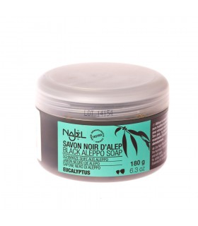 Noir d'Alep - eucalyptus - NAJEL - 150 g de savon