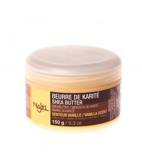 Manteiga de karité - sabor baunilha - NAJEL - 150g