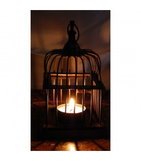 Birdcage candle Lantern - made in copper