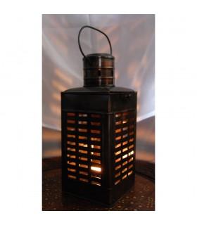 Candela lanterna chiuso - fucinatura