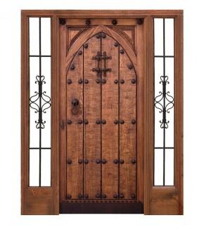 Мавританский дверь Albayzín - C - высокий авторитет - вдохновил Альгамбра
