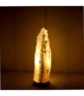 Лампа белая селенит - натуральный - различных размеров