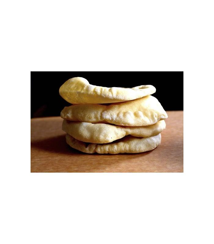 Pan de Pita Artesano - Kebab - Shawarma - Bolsa con 5 Unidades