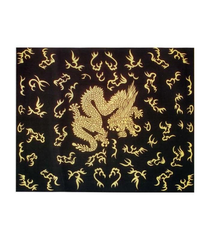 Fabric cotton-India - Dragon Chinese - 210 x 140 cm