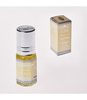 Perfume - homem secreto sem álcool - 3 ml