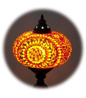 Turkish lamp table - 52 cm high - various colors