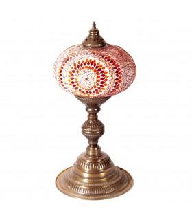 Tavolo lampada turco - 52 cm di altezza - vari colori