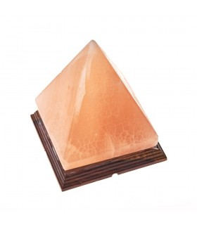 Lámpara Piramide - Natural - Himalaya - NOVEDAD